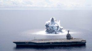 EU realiza megaexplosiones contra buque para saber si está listo para la guerra