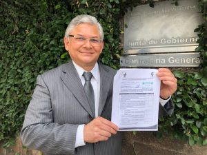 Jorge Manzo anuncia su registro al proceso de elección del rector de la Universidad Veracruzana