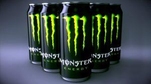¿A cuántas tazas de café equivale una lata de Monster?