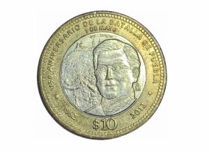 ¿Tienes una moneda de 10 pesos? Si cuenta con estos detalles podrías venderla en 10 mil pesos