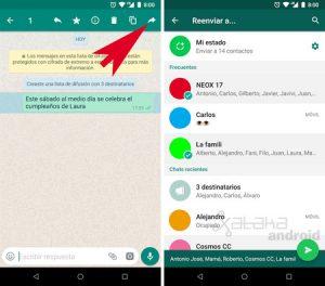 WhatsApp: ¿Cómo compartir un mensaje sin reenviarlo?